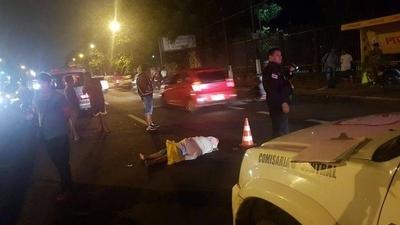 HOY / Anciana muere arrollada por motociclista en Capiatá