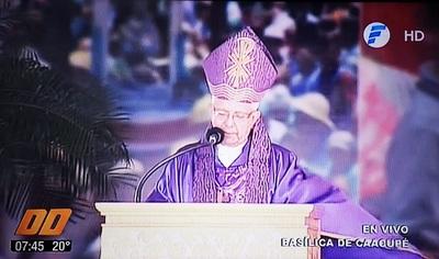 Monseñor resalta inequidad social y pide erradicar la corrupción