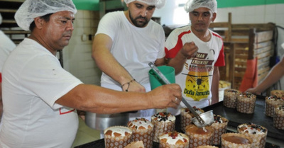Internos buscan vender  unos 5.000 pan dulces