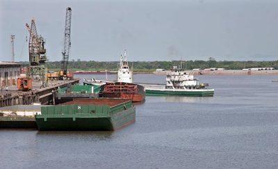 Sigue bajante del río Paraguay y complica aún más navegación y comercio