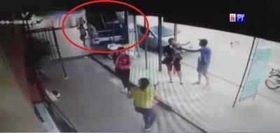 Aparatoso accidente causa susto en Itauguá