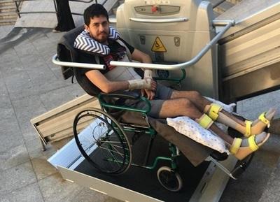 Familiares exigen justicia para víctima de accidente que quedó tetrapléjico