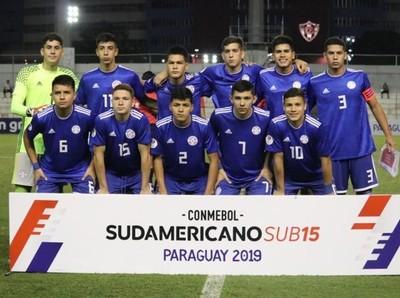 Sudamericano Sub 15: Paraguay y Brasil se miden por el paso a la final