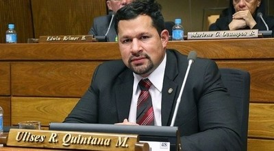 Ulises Quintana podría ser expulsado de la ANR si hay una denuncia concreta