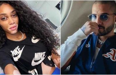 La foto que podría confirmar el romance entre Maluma y la modelo Winnie Harlow