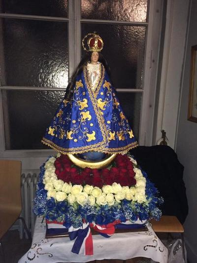 La virgen cuyo festejo llega al exterior