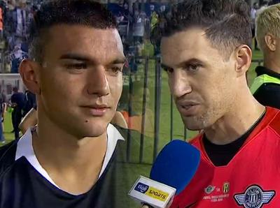 Ejemplares ganadores: Martín Silva y Lucas Sanabria hablan luego de ser campeones de la Copa Paraguay