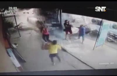 ¡De milagro! : Accidente deja sustos en Itauguá.