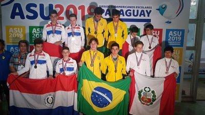 Paraguay sigue sumando preseas en los Juegos Sudamericanos Escolares