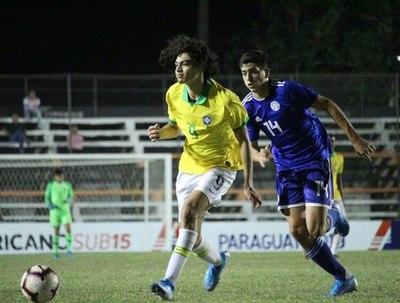 Paraguay no pudo con Brasil y va por el tercer puesto