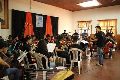 "Osê porãiterei concierto de ""Sonidos de la Tierra"" tavaguasu Horqueta-pe"