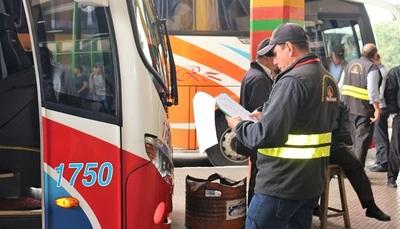 Dinatran liberó horario de buses para Caacupé
