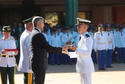 Egresan nuevos oficiales de distintas armas y servicios de la Academil