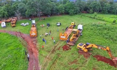 Arrancan obras del segundo puente en la zona de Presidente Franco