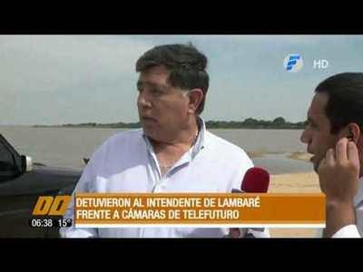 Detuvieron al intendente liberal, Armando Gómez