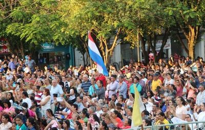 Sorprende gran concurrencia de fieles en Caacupé