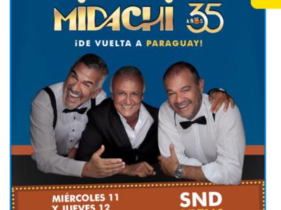 ¡Midachi vuelve a Paraguay!