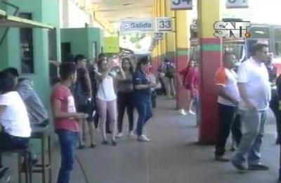 Operativo Caacupé: Liberan el horario de buses en la terminal de ómnibus