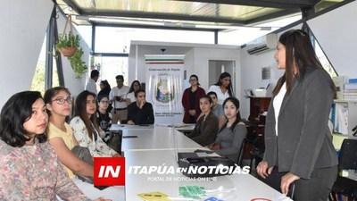 TALLER DE INDUCCIÓN A LA SEGURIDAD VIAL DIRIGIDO A JÓVENES DE ITAPÚA
