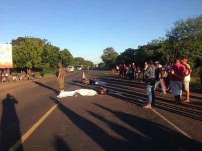 Madre e hijo pequeño fallecen en accidente en motocicleta