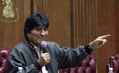 Evo Morales viaja de México a Cuba a consulta médica