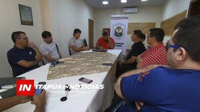 GESTIONAN PARA QUE CAPACITACIÓN HABILITANTE DE FÚTBOL DE SALÓN SE REALICE EN ITAPÚA