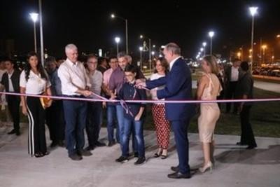 Gobierno Nacional habilita parque lineal de la Costanera de Asunción