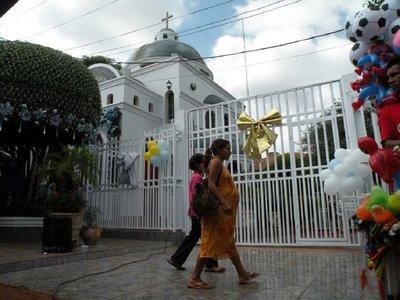 Un santuario narco para la Virgen de Caacupé