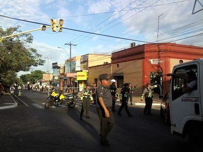 Desvíos: Ruta PY02 se volvió peatonal