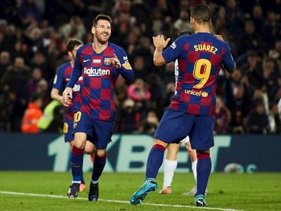 Messi lidera el nuevo tridente azulgrana