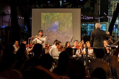 "La OSCA lleva ""Música Para Volar"" a la Plaza Uruguaya"