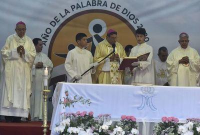 Caacupé: Monseñor Valenzuela cierra la misa fustigando la corrupción, pobreza y violencia