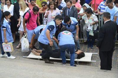 Salud reporta una muerte y 16.000 personas atendidas en operativo Caacupé