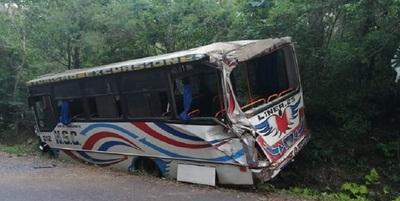 Choque en Caacupé deja 10 heridos