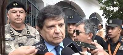 Ministro sostiene que todos deben luchar contra la corrupción y la inseguridad