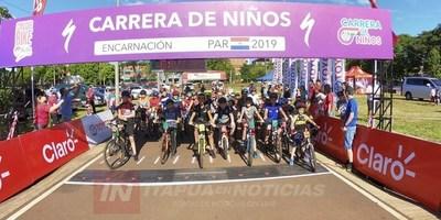 EXITOSA CARRERA DE NIÑOS EN ENCARNACIÓN