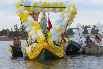 Villa Florida celebró a la Virgen Inmaculada Concepción de María