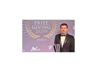 Galanti fue premiado en la gala FIA