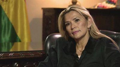 """Áñez, """"indiferente"""" porque no la invitaron a la asunción de Alberto Fernández"""