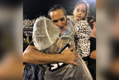 La tierna felicitación de Giselle a Roque, tras ganar el campeonato