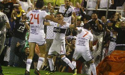 Así fue el gol de Roque para que Olimpia grite tetracampeón