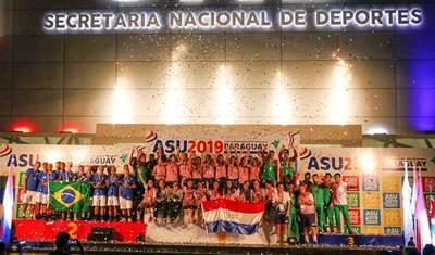 Paraguay rompió su récord de medallas en los Juegos Sudamericanos Escolares