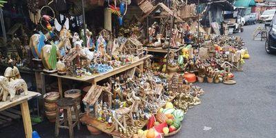 Inició venta de pesebres en el Mercado 4