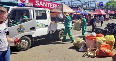 No llegó el mensaje del obispo: 850 toneladas de basura en Caacupé