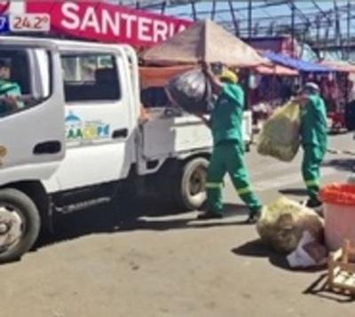 Recolectaron 850 toneladas de basura en Caacupé