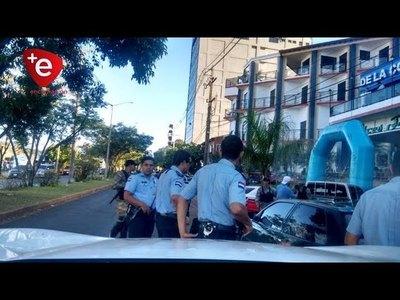 PRUEBA DE FUEGO: ARDUA LABOR DE FUERZAS POLICIALES EL FIN DE SEMANA EN ENCARNACIÓN