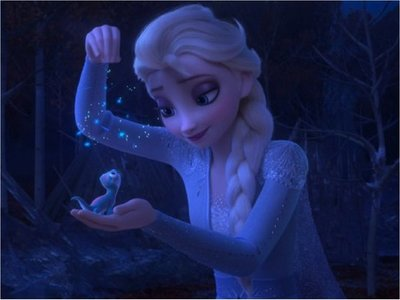 Frozen 2 lidera por tercera semana seguida la taquilla de EEUU
