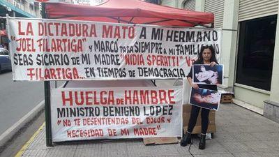 Hija de Joel Filártiga exige indemnización a Hacienda por asesinato de su hermano durante la dictadura