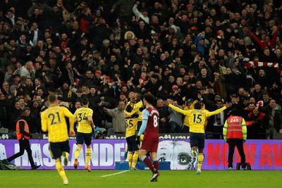 El Arsenal resucita diez partidos después
