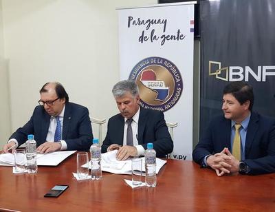 Funcionarios de la Senad podrán acceder a créditos de compra de deuda del BNF